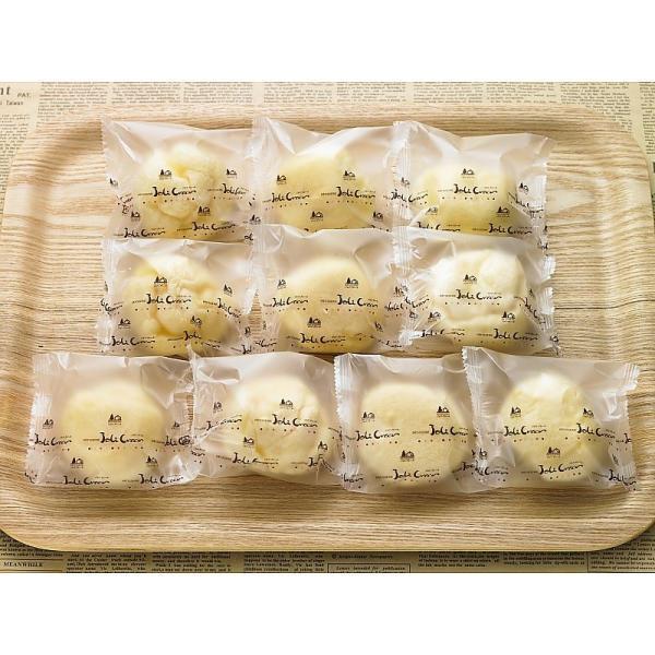 ( 産地直送 お取り寄せグルメ ) 北海道 函館北斗ジョリ・クレール もっちりシュー 10個
