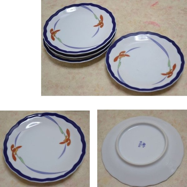 香蘭社(オーキッドレース)パン皿セット 15.5cm 1005-JE|gift-shop-yamato|02