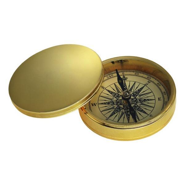 ノスタルジック方位磁石(コンパス:真鍮フタ付き)NAUTICA ドイツKasper&Richter社製 gift-trine-pro 02