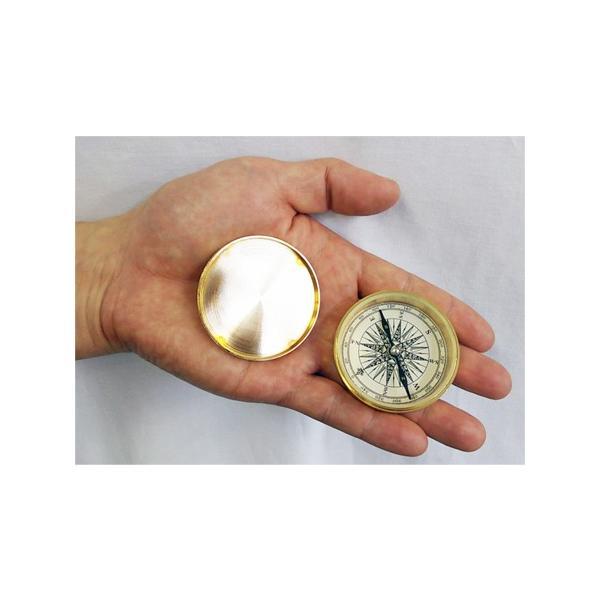 ノスタルジック方位磁石(コンパス:真鍮フタ付き)NAUTICA ドイツKasper&Richter社製 gift-trine-pro 03