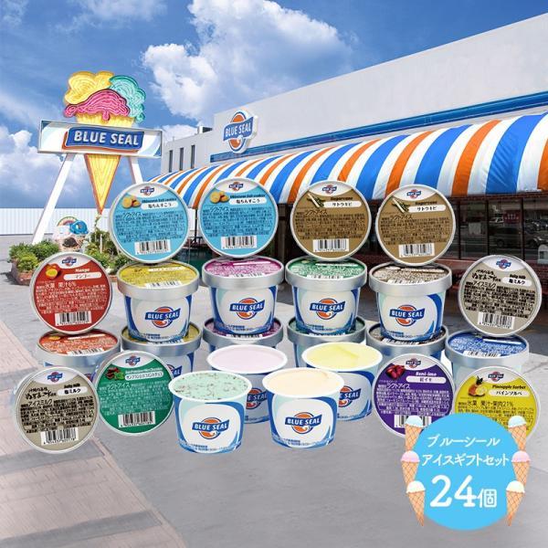 ギフト スイーツ プレゼント 沖縄 ブルーシール アイスギフトセット 12種類 24個 詰め合わせ 洋菓子 フルーツ ソルベ 送料無料 SK1228 高級 お歳暮 2021