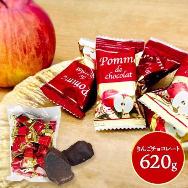 お歳暮 洋菓子 2021 ギフト プレゼント お菓子 スイーツ チョコ りんごチョコレート 620g 食べ物 まとめ買い 個包装 お取り寄せ 食品 送料無料 SK1515 高級