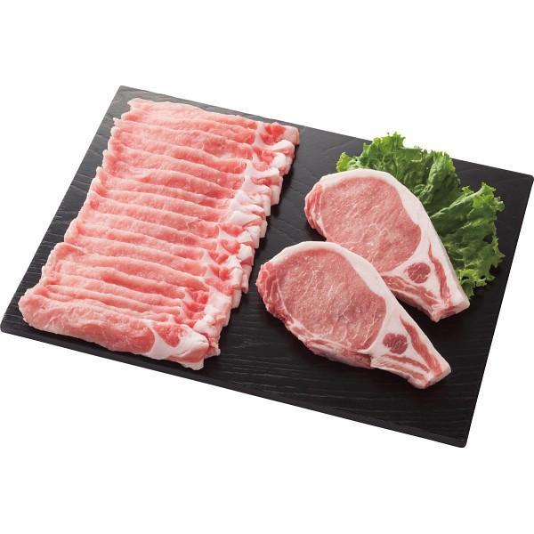 庄内SPF豚 ロースステーキ&しゃぶしゃぶ用セット    (送料無料) (メーカー直送/代引き不可) (ギフト対応不可)