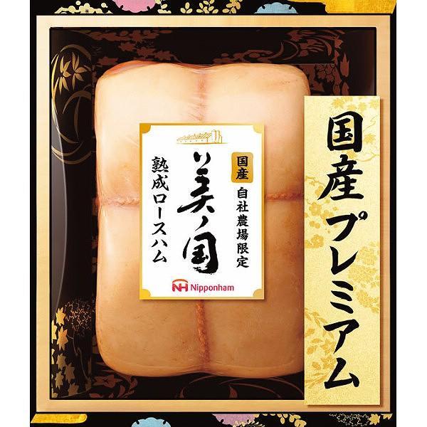 日本ハム 美ノ国ロースハム  UKIー34 (送料無料) (メーカー直送/代引不可)