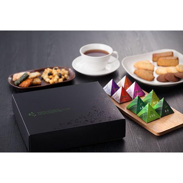 ブランデーケーキ メイプル 紅茶 おしゃれ 三角テトラ ティーバッグ ギフトセット ブランデーケーキ&紅茶|giftnomori|04