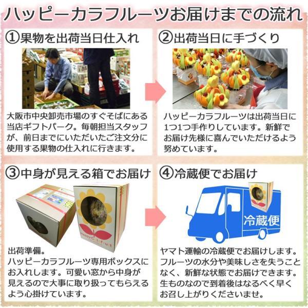 果物 ギフト サプライズプレゼント ノア バースデーケーキ 誕生日 結婚記念日 プレゼント カットフルーツ 盛り合わせ お祝い フルーツブーケ 宅配 送料無料|giftpark|10