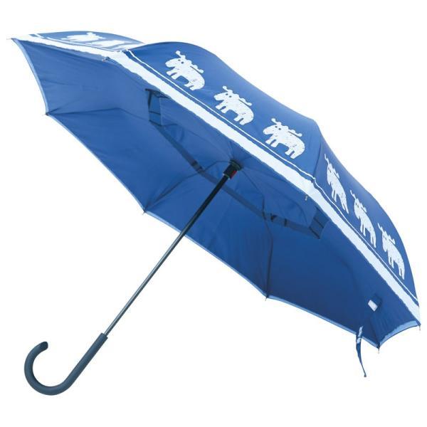 ハロウィン プレゼント 2019 レディース雨傘 二重傘 サーカス×moz インディゴ|giftstyle|02