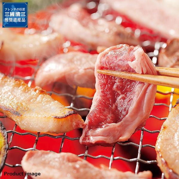 お中元 2021 ギフト かみふらのポーク 北海道 焼肉 サガリ & 焼肉 5個 セット 詰め合わせ MTK-20G 内祝 お返し お礼