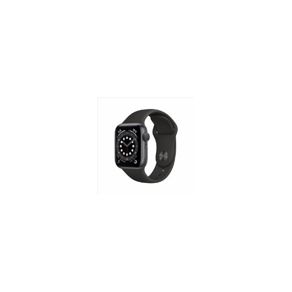 Apple(アップル)MG133J/AAppleWatchSeries6(GPSモデル)-40mm ブラックスポーツバンド