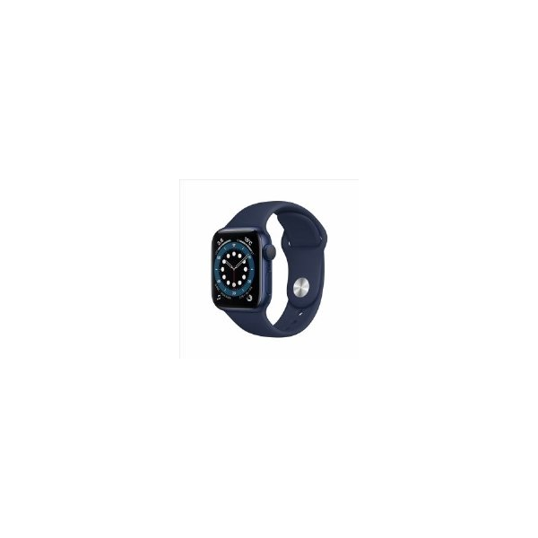 Apple(アップル)MG143J/AAppleWatchSeries6(GPSモデル)-40mm ディープネイビースポーツバン