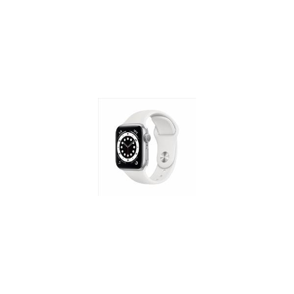 Apple(アップル)MG283J/AAppleWatchSeries6(GPSモデル)-40mm ホワイトスポーツバンド