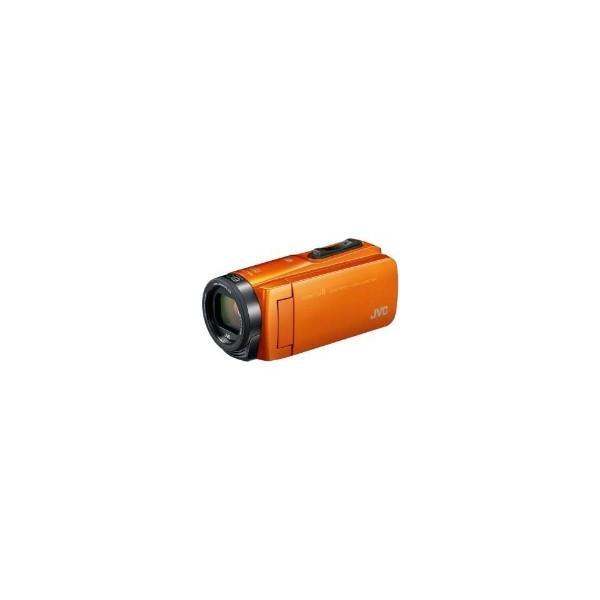 VICTOR(ビクター) GZ-RX670-D SD対応 64GBメモリー内蔵 防水・防塵・耐衝撃フルハイビジョンビデオカメラ(サンライズオレンジ)