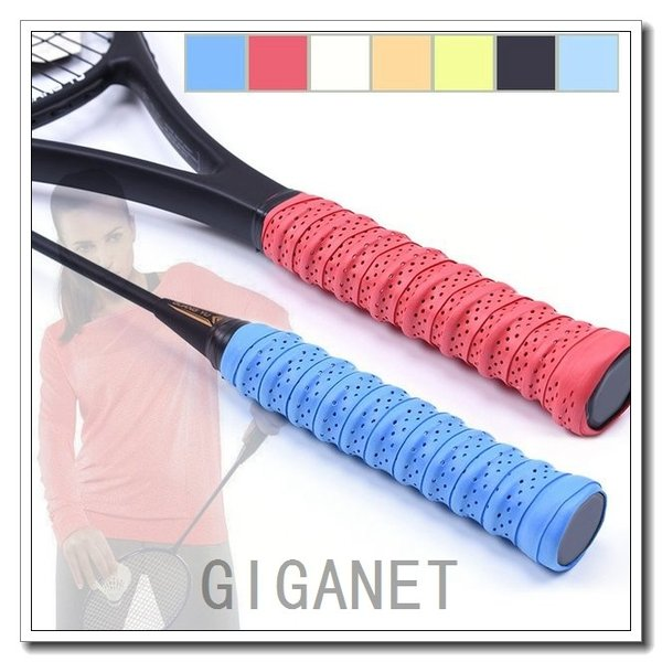 2pc Anti Slip Tennis Racket Grip Badminton Racket Grip Tape Squash Tap·110*2.5cm