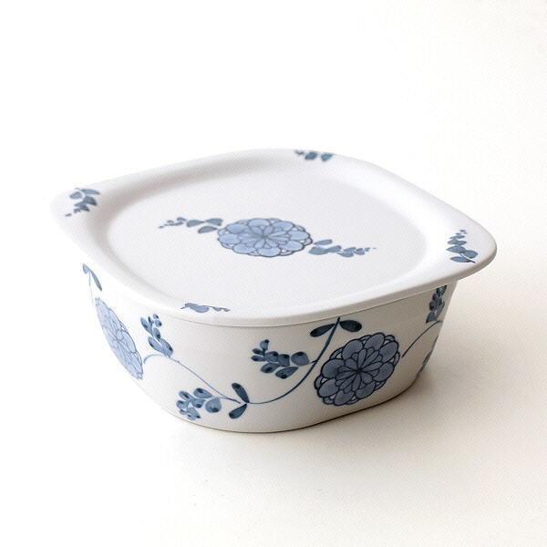 蓋付角鉢 オーブン皿 おしゃれ かわいい 角型 ...
