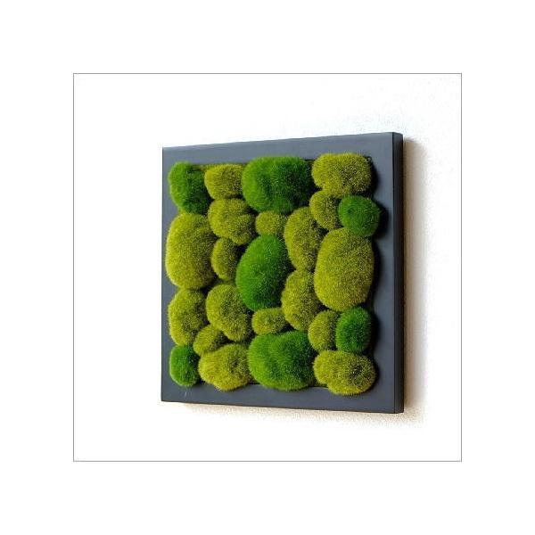 RoomClip商品情報 - 壁飾り 観葉植物 壁掛けインテリア ディスプレイ リビング 光触媒 壁面 オーナメント パネル ウォールデコレーショングリーン C