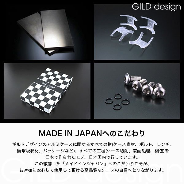 ギルドデザイン iPhone 12 mini バンパー GILDdesign 耐衝撃 アルミ ケース 高級 日本製 iPhone12mini アイフォン12mini gilddesign 18