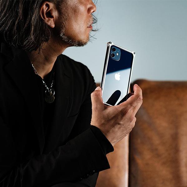 ギルドデザイン iPhone 12 mini バンパー GILDdesign 耐衝撃 アルミ ケース 高級 日本製 iPhone12mini アイフォン12mini gilddesign 07