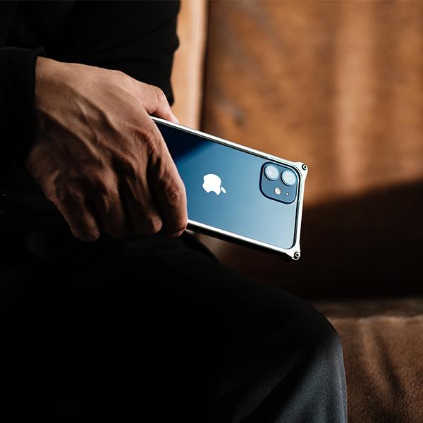 ギルドデザイン iPhone 12 mini バンパー GILDdesign 耐衝撃 アルミ ケース 高級 日本製 iPhone12mini アイフォン12mini gilddesign 08