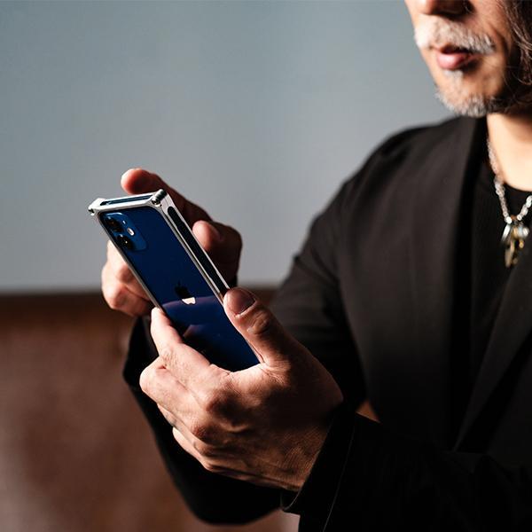ギルドデザイン iPhone 12 mini バンパー GILDdesign 耐衝撃 アルミ ケース 高級 日本製 iPhone12mini アイフォン12mini gilddesign 09