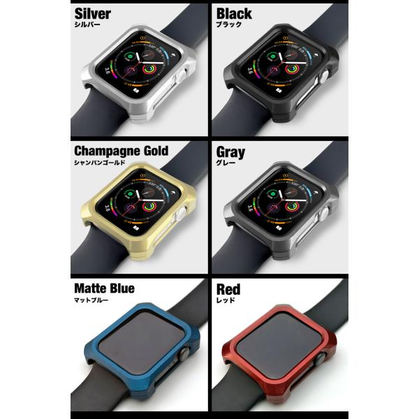 Apple Watch 5 カバー ケース 44mm ギルドデザイン アップルウォッチ series5 series4 シリーズ GILD design 日本製 アルミ 耐衝撃|gilddesign|02