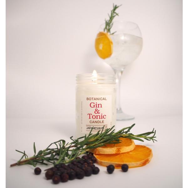 【おうち時間に】ジントニック・ボタニカル・キャンドル【ジャパネスク】 / Gin & Tonic Botanical Candle -Japanesque-【ギフトにも】|gin-gallery|02