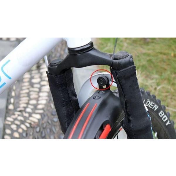 ピーチクラフト(Peach Craft) 自転車 フェンダー 泥除け マッドガード 前後セット MG003BL ブルー|gingaichimarket|09