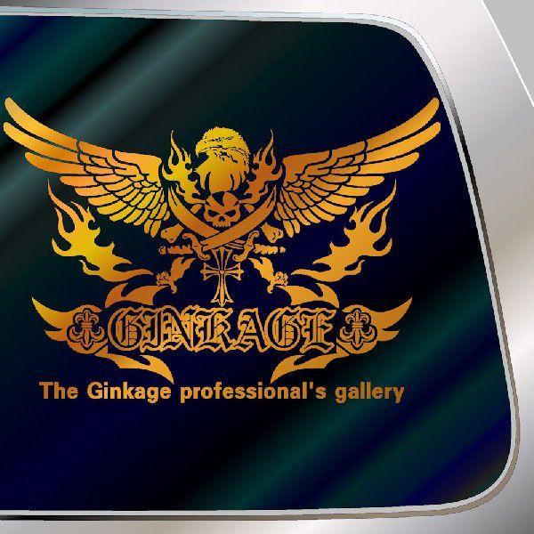 カッコイイ ドクロ ステッカー 車 サイズ:29cm×42cm 車 ステッカー リアガラス用 ステッカー スカル ステッカー |ginkage