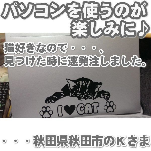 エコ ステッカー かわいい 猫ステッカー サイズ:10cm×20cm   車 ステッカー  ネコ ドライブ 猫グッズ 猫雑貨 ねこ雑貨 ginkage 06