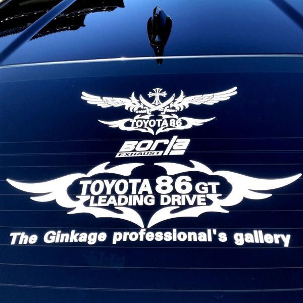 エンブレム 車 ステッカー かっこいい メーカー ロゴ カッティングシート ステッカー|ginkage|04