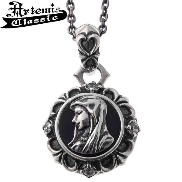 アルテミスクラシック ネックレス メンズ ブランド マリアコイン メダイ 聖母 シルバー ペンダント Artemis Classic