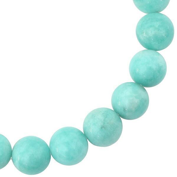 アマゾナイト ブレスレット 10mm 18cm 天然石 パワーストーン プレゼント 腕輪 数珠 ginnokura 03