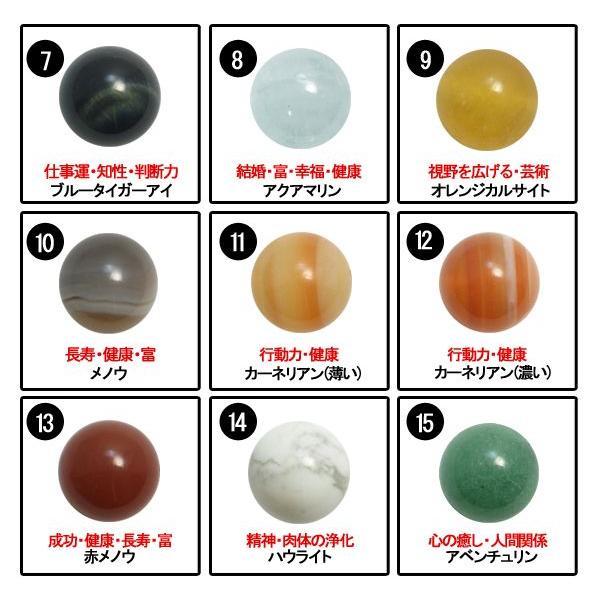 全15種類の石の中から選べる!天然石丸玉 12mm ネックレス レディース シルバー ginnokura 05