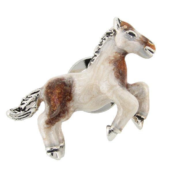 ピンブローチ 馬 ウマ ポニー 動物 シルバー925 メンズ レディース おしゃれ ブランド ピンバッジ バッチ ラペルピン