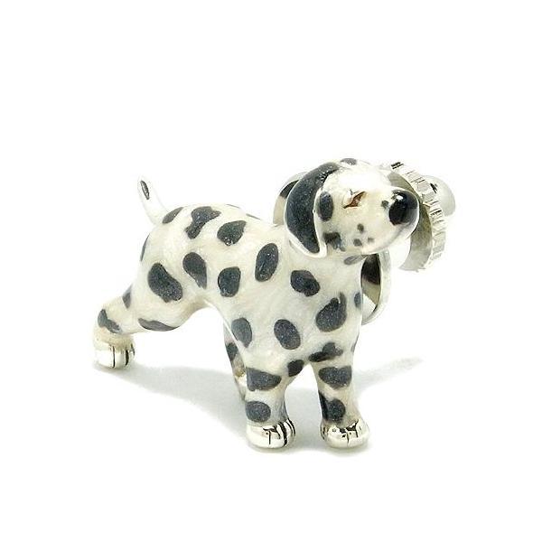 ピンブローチ 犬 ダルメシアン 動物 シルバー925 メンズ レディース おしゃれ ブランド ピンバッジ バッチ ラペルピン