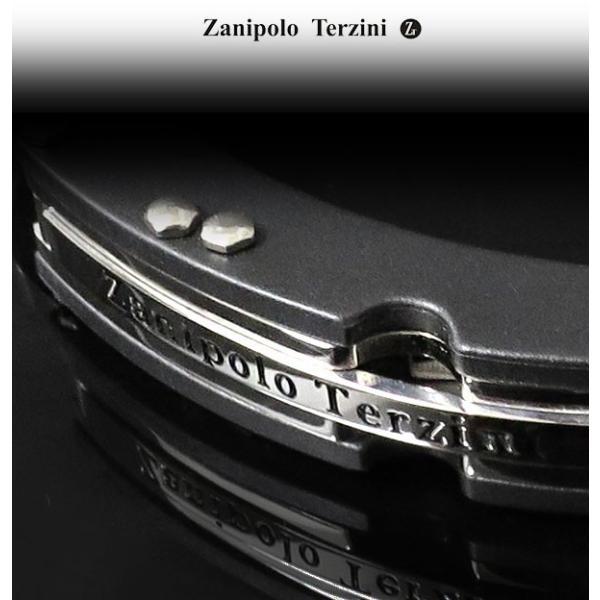 サージカルステンレス ブレスレット メンズ 手錠 黒 ブラック カフ ザニポロタルツィーニ サージカルステンレスブレスレット|ginnokura|07