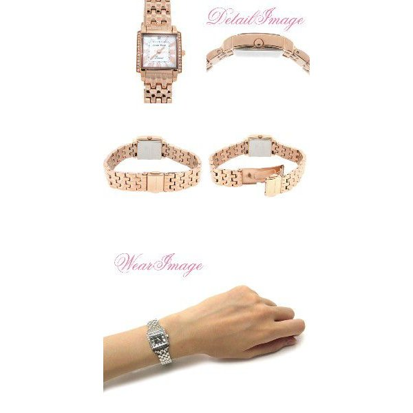 腕時計 レディース ブランド JUL202 ダイヤモンド ピンクゴールド レディース腕時計|ginnokura|02