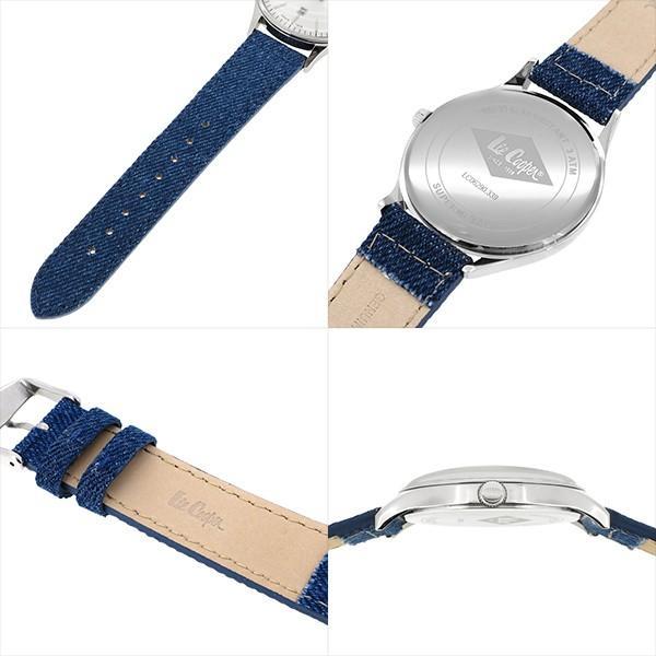 Lee Cooper リークーパー 腕時計 メンズ ブランド デニム レザーベルト ネイビー LC06290.339 時計 Lee Cooper リークーパー|ginnokura|02