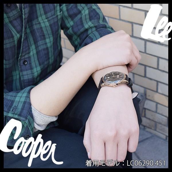 Lee Cooper リークーパー 腕時計 メンズ ブランド デニム レザーベルト ネイビー LC06290.339 時計 Lee Cooper リークーパー|ginnokura|04