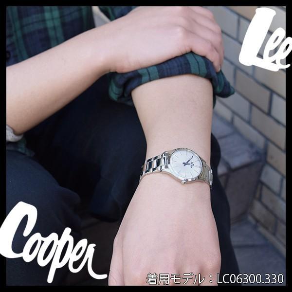 Lee Cooper リークーパー 腕時計 メンズ ブランド ステンレスベルト シルバー LC06300.330 時計 Lee Cooper リークーパー|ginnokura|04
