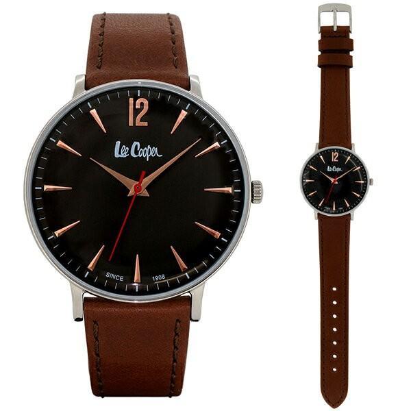 Lee Cooper リークーパー 腕時計 メンズ ブランド レザーベルト ブラウン ブラック LC6379.362 時計 Lee Cooper リークーパー|ginnokura|03