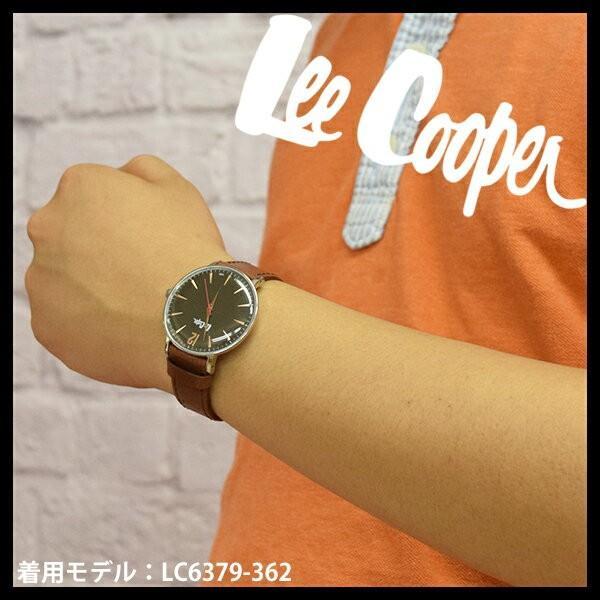 Lee Cooper リークーパー 腕時計 メンズ ブランド レザーベルト ブラウン ブラック LC6379.362 時計 Lee Cooper リークーパー|ginnokura|05