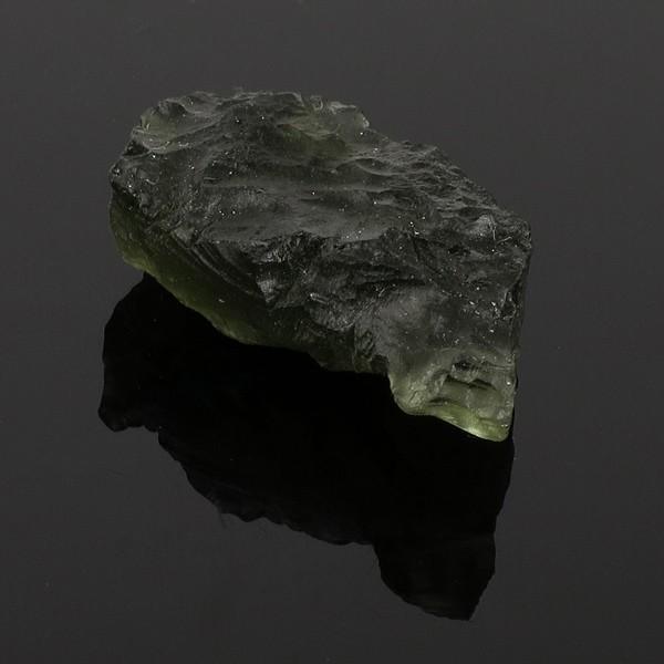 モルダバイト 原石 約3.8g 天然石 パワーストーン 隕石 天然ガラス 置物 インテリア プレゼント 人気|ginnokura|04
