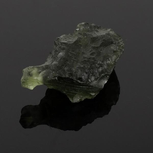 モルダバイト 原石 約3.8g 天然石 パワーストーン 隕石 天然ガラス 置物 インテリア プレゼント 人気|ginnokura|05