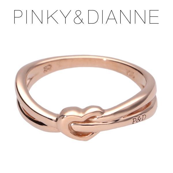ピンキーアンドダイアン ピンキーリング ハート クロスライン 1-7号 ゴールド 金 指輪 レディース ブランド プレゼント 女性