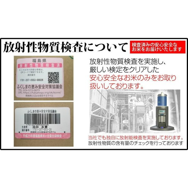 米 20kg 精米 福島中通り産コシヒカリ 送料無料 平成29年産 1等米 お米|ginshari|04