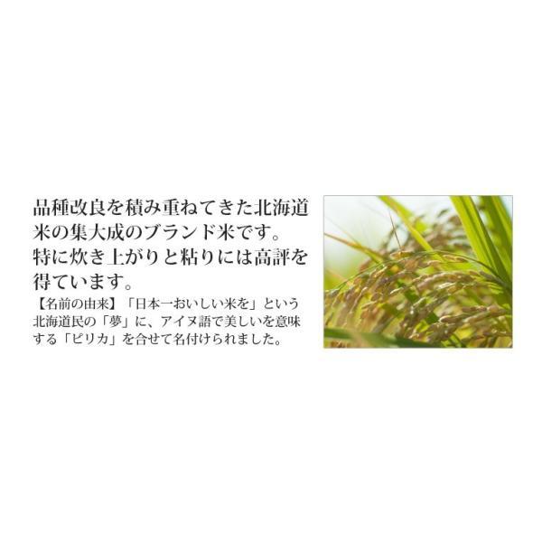 米 20kg お米 玄米 北海道産 ゆめぴりか 送料無料 平成29年産 1等米  選べる精米方法|ginshari|04