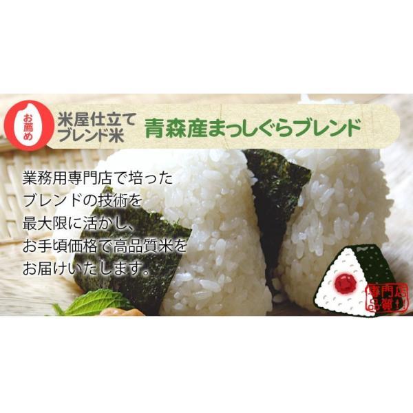 米 10kg 青森産まっしぐらブレンド 送料無料 平成29年産 米屋仕立てブレンド米|ginshari|02