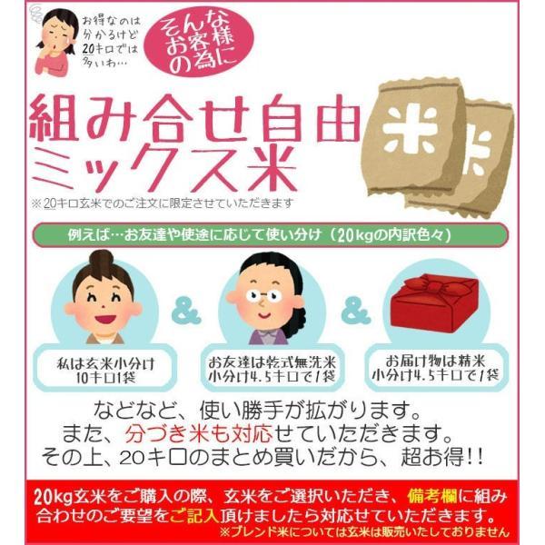 新米 米 お米 20Kg 青森県産 まっしぐら 玄米 送料無料 平成30年産 選べる精米方法|ginshari|06