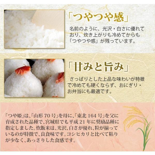 新米 お米 米 30kg お米 宮城産 つや姫 玄米 送料無料 令和元年産 選べる精米方法 ginshari 03
