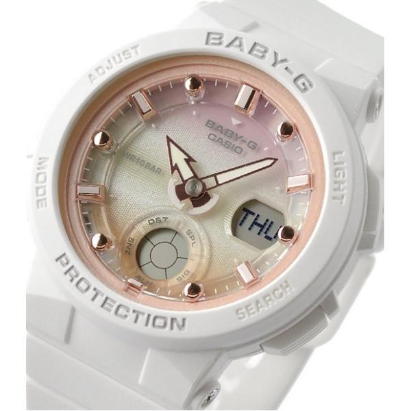 23a77e2b1ecd8d 腕時計 レディース カシオ(CASIO) ベビーG(Baby-G) アナデジ 250型 ...